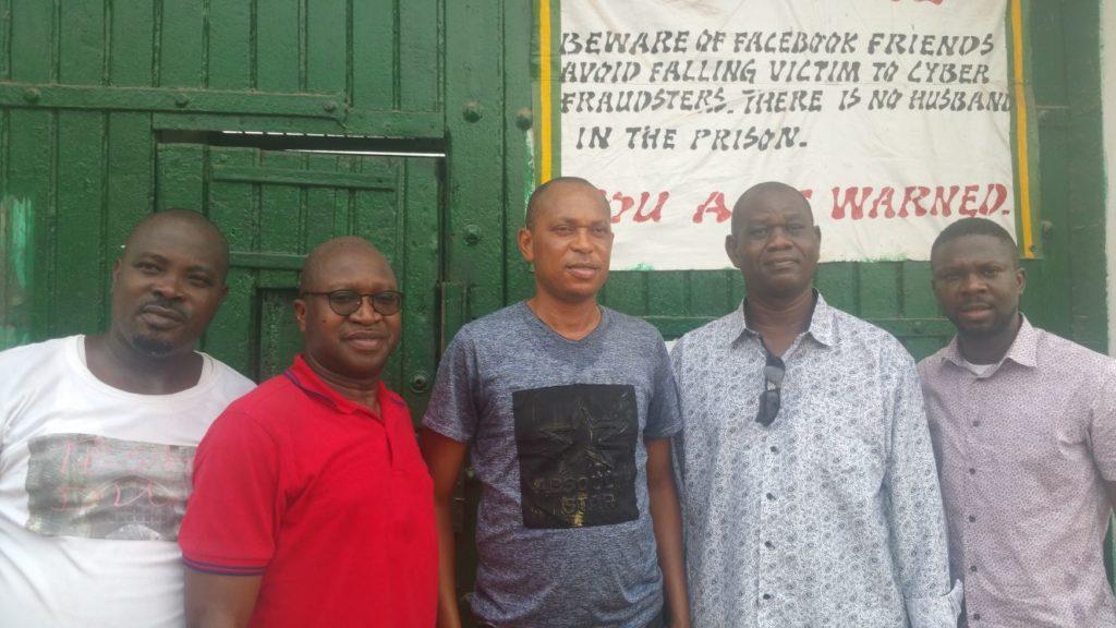 Abeokuta prison visit February 2018