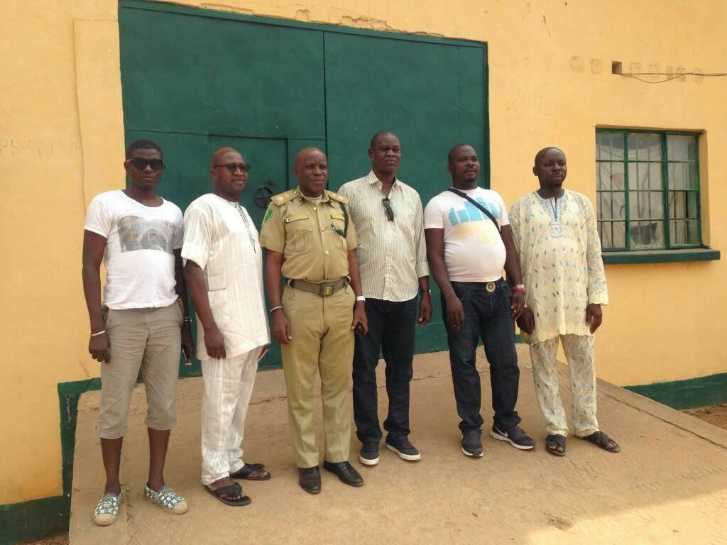 Ilesha prison visit February 2018