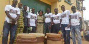 Charity team visit to Agodi prison in 2017